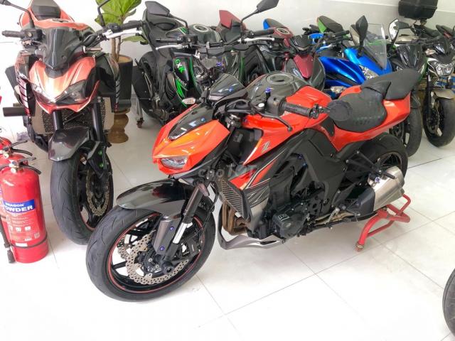 Chuyen Thanh Ly Xe may Kawasaki z1000 abs Nhap Khau hai quan Gia re lh 0777485772 - 2