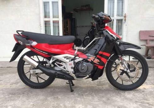 Chuyen Thanh Ly Xe may Suzuki xipo 120Nhap Khau hai quan Gia re lh 0777485772 - 3