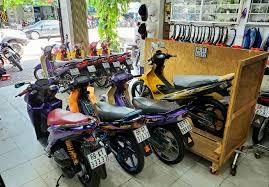 Chuyen Thanh Ly Xe may Yamaha Yaz 125 Nhap Khau hai quan Gia re - 2