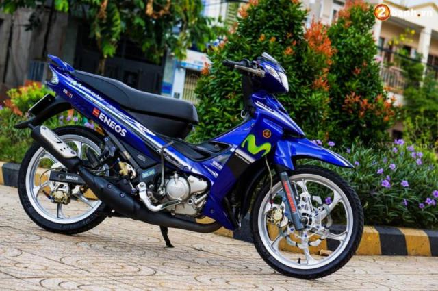 Chuyen Thanh Ly Xe may Yamaha Yaz 125 Nhap Khau hai quan Gia re - 5