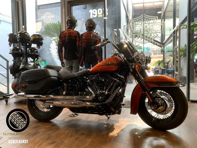 Harley Davidson Heritage Classic 114 Scorched Orange Silver Flux - 3