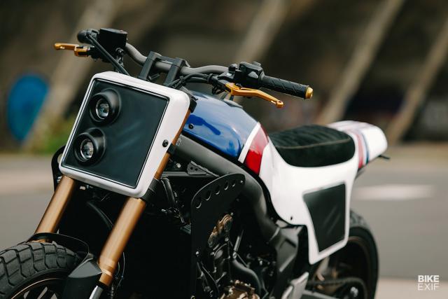 Honda CB650R do phong cach Flat Track cua KingSton - 4