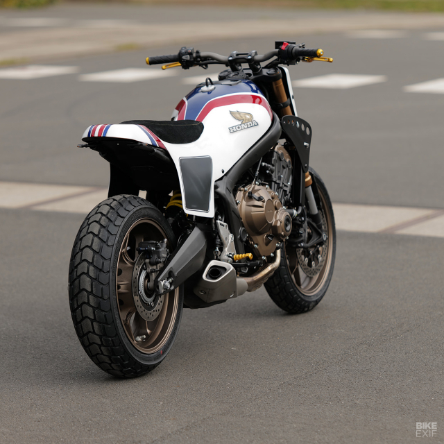 Honda CB650R do phong cach Flat Track cua KingSton - 7