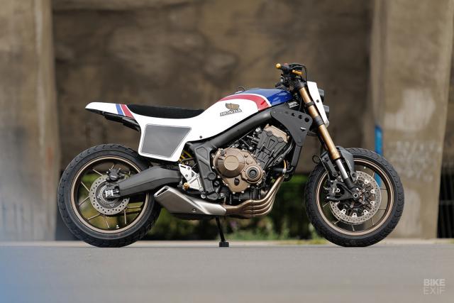 Honda CB650R do phong cach Flat Track cua KingSton - 8