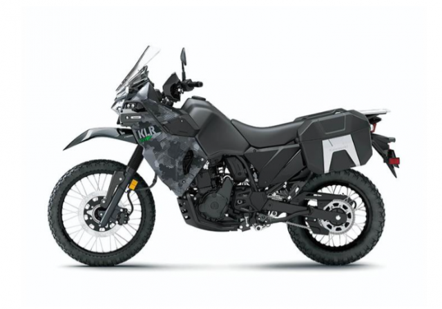 Kawasaki KLR650 2021 chinh thuc ra mat - 7