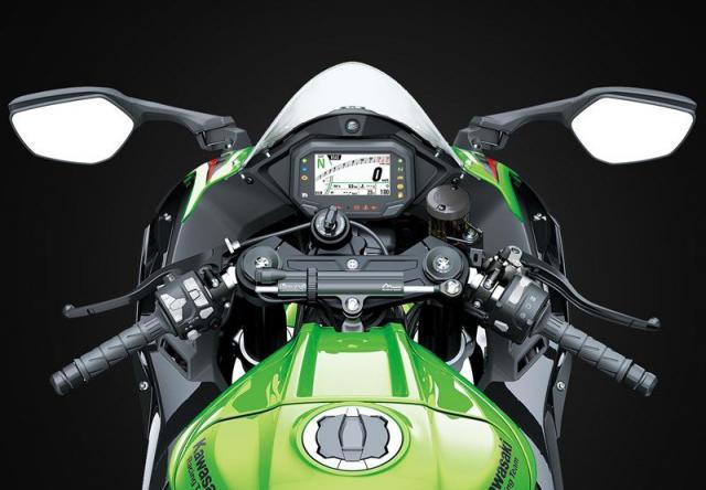 Kawasaki Ninja ZX10R 2021 ra mat Chau A vao cuoi quy 1 nam nay - 4