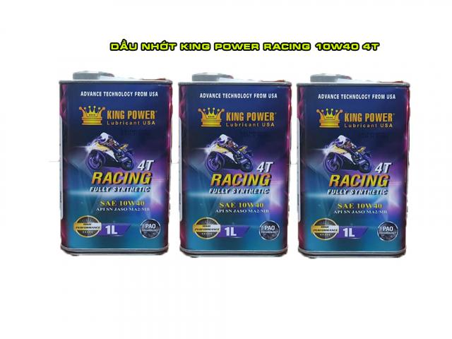 Nhot King Power Racing 10W40 4T gia si tai Ho Chi Minh - 2