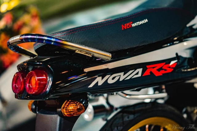 Honda Nova do cuc chat va bo anh long lay trong dem - 7