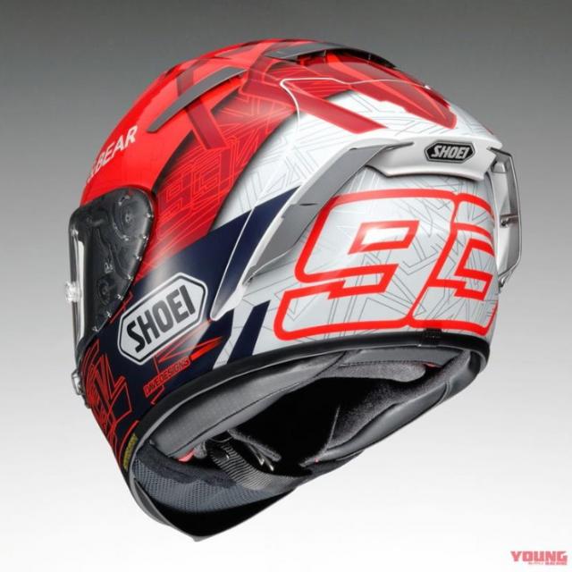 Shoei X14 Marquez 6 ra mat phien ban danh cho Marc Marquez tai MotoGP 2021 - 4