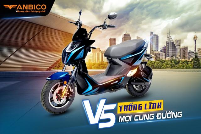 Xe dien Anbico V5 Thong linh hoc duong - 6