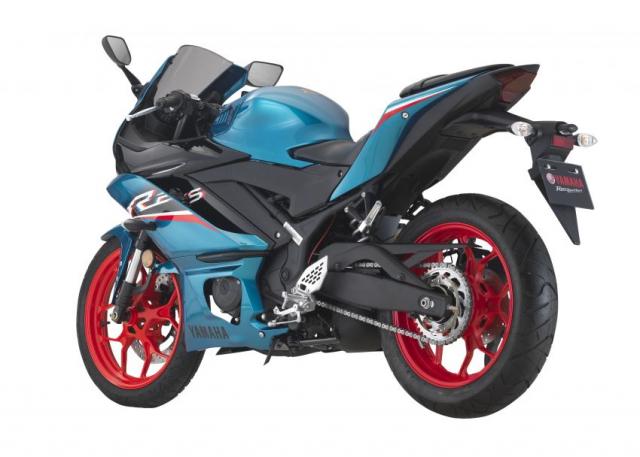 Yamaha R25 2021 chinh thuc trinh lang mau moi voi gia tu 114 trieu dong - 9