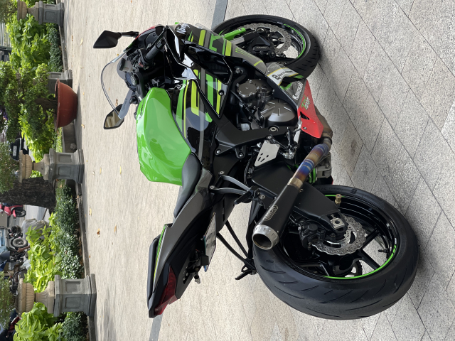 _ Moi ve Kawasaki Ninja ZX6R ABS ban KRT HQCN Dang ky 2020 chinh 1 chu odo dung chuan 9500km - 8