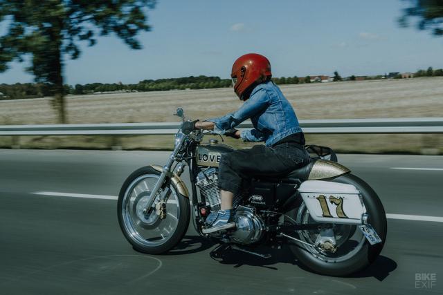 Ban do HarleyDavidson Sportster voi phong cach den tu Nhat Ban - 12