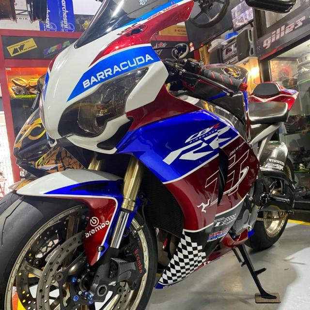 Honda CBR1000RR trong ban do cuc dep - 3