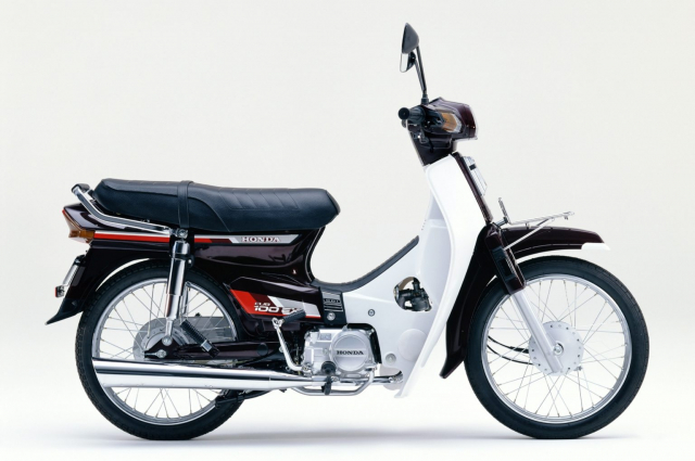 Honda Cub 100 EX Mot nguoi anh em khac cua Dream II than thanh - 3