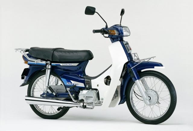 Honda Cub 100 EX Mot nguoi anh em khac cua Dream II than thanh - 5