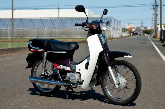 Honda Cub 100 EX Mot nguoi anh em khac cua Dream II than thanh - 8