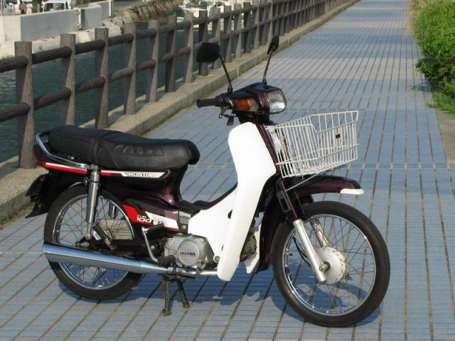 Honda Cub 100 EX Mot nguoi anh em khac cua Dream II than thanh - 9