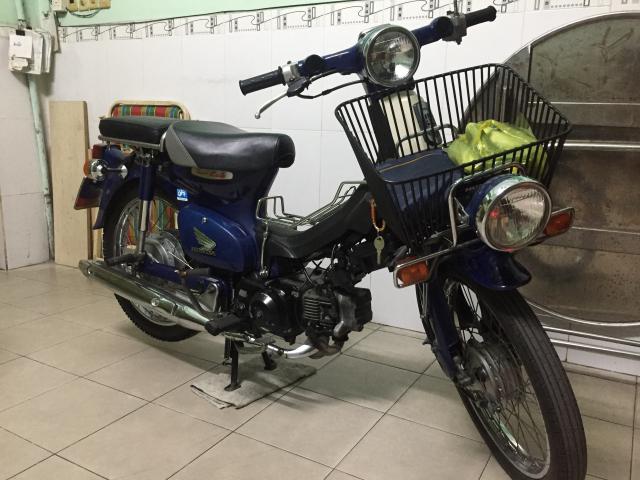 Honda Cub 50 CC phun xang dien tu
