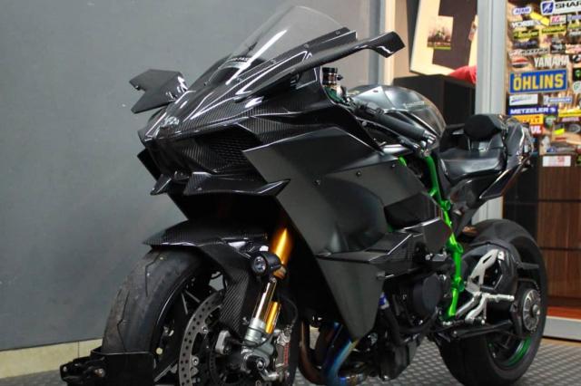 Kawasaki Ninja H2 Trum cuoi len do don xuan - 3
