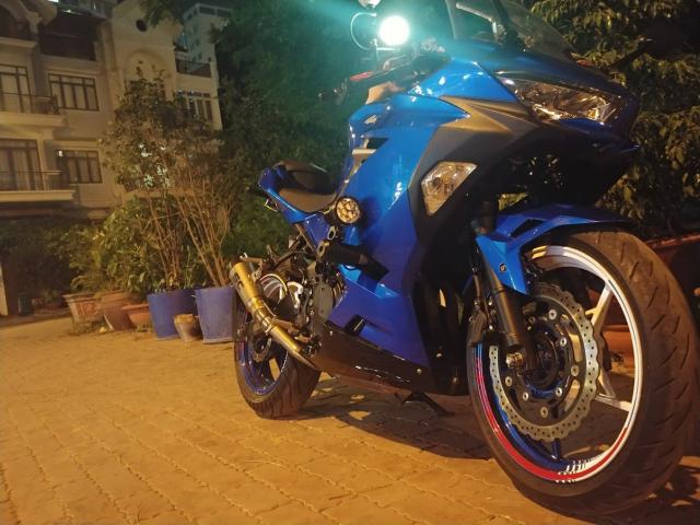 Ninja 400 mau xanh duong - 2