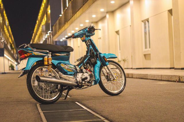 Phuc sinh Honda Dream voi dan do choi du chat du luong - 14