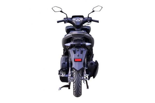 Rusi Rapid Ke dao nhai kieu dang cua Yamaha NVX - 9