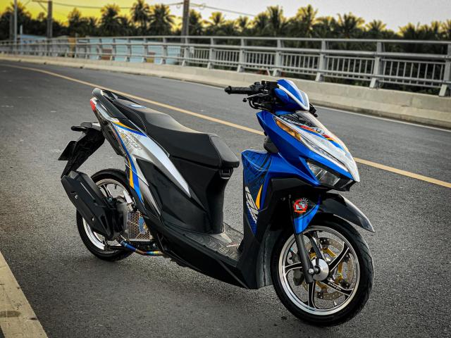 Vario do cua biker yeu nuoc voi bieu tuong Trong Dong - 7