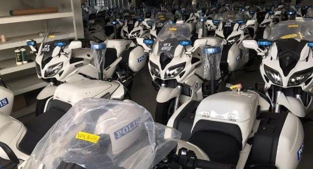 Canh sat Malaysia duoc trang bi Yamaha FJR1300P