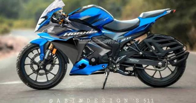 Honda Hornet 20 bien hinh voi phong cach Sportbike