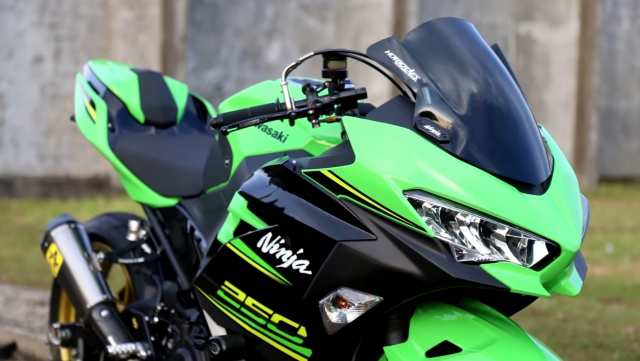 Kawasaki Ninja 250 do tu Sport City thanh Sport bike ca tinh