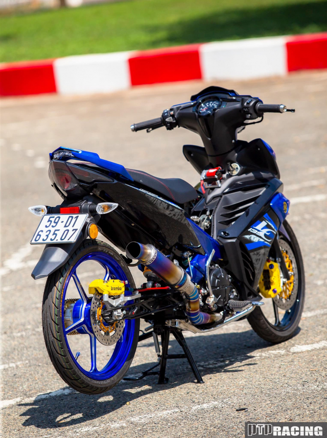 Exciter 135 do thanh LC135 DINH khong can CHINH - 14