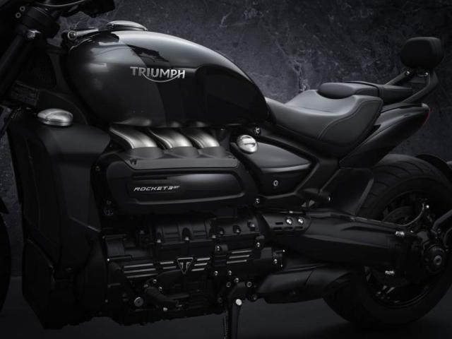 Triumph Rocket 3 Black limited Edition phien ban gioi han chinh thuc trinh lang - 9