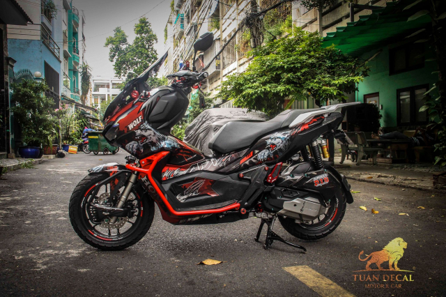 ADV 150 ham ho that su trong bo canh candy - 6