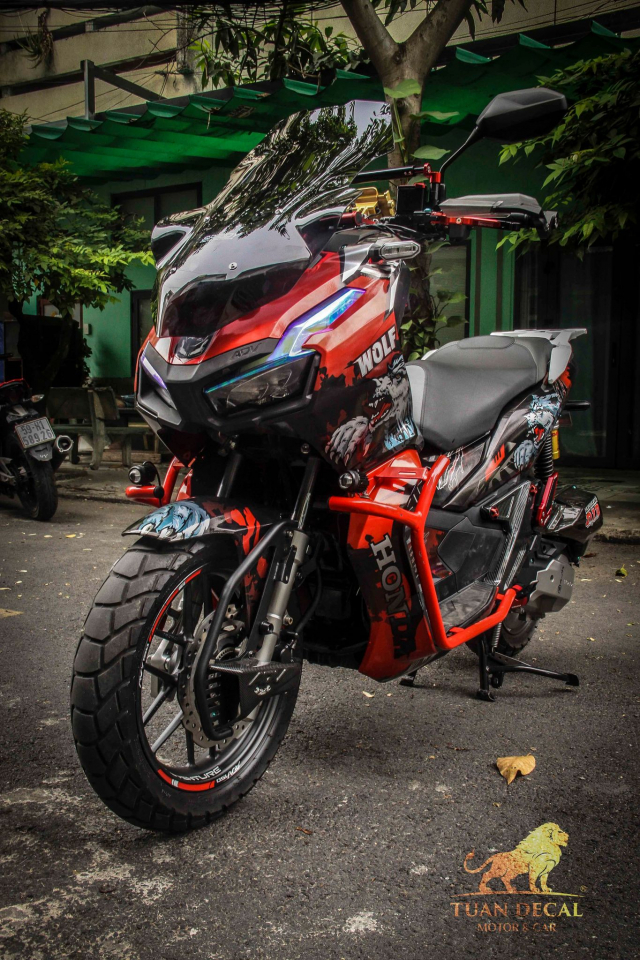 ADV 150 ham ho that su trong bo canh candy - 4