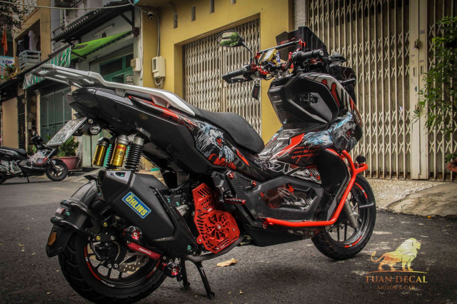 ADV 150 ham ho that su trong bo canh candy - 8