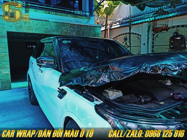 Dan Decal Doi Mau O to Xe Hoi Tan Noi SaiGon Car Wrap - 5