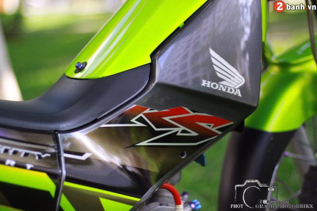 Honda Nice 125 hoa thanh sieu pham voi dan trang bi di vao di vang - 3