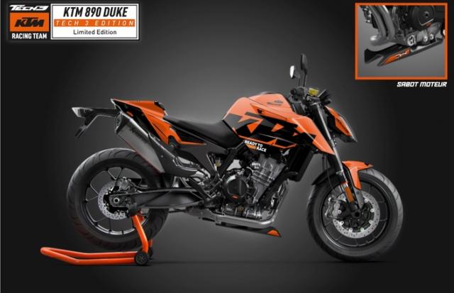 KTM 890 Duke Tech 3 MotoGP Replica chinh thuc trinh lang - 3