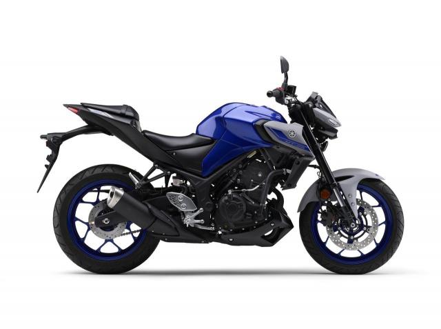 Yamaha Nhat Ban phat hanh phien ban moi MT25 MT03 2021 - 10