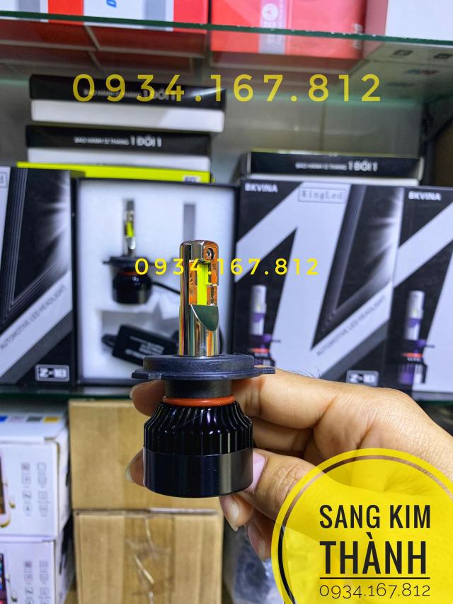 Den Pha Led King Led Z10S Chinh Hang - 3