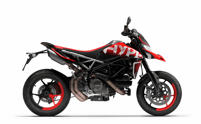 Ducati Hypermotard 950 2022 thay doi phong cach nang cap hieu suat - 10