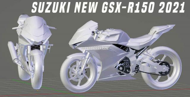 Lo tin Suzuki GSXR150 hoan toan moi sap duoc ra mat