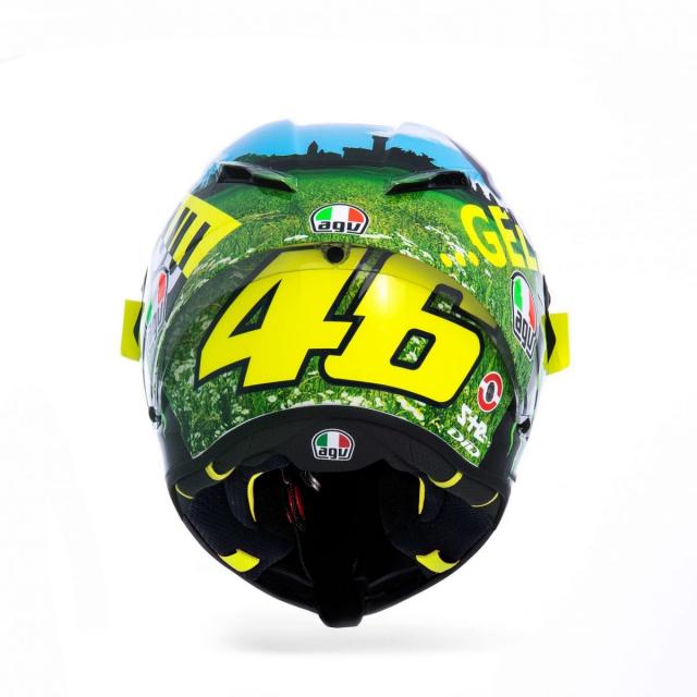 Ra mat phien ban mu bao hiem doc quyen danh cho Valentino Rossi 2021 - 6