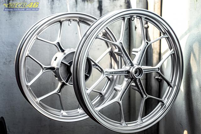 Son tinh dien mam xe may cho Winner X 150 do Decal46 thuc hien - 2