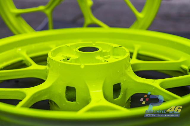 Son tinh dien mam xe may cho Winner X 150 do Decal46 thuc hien - 9
