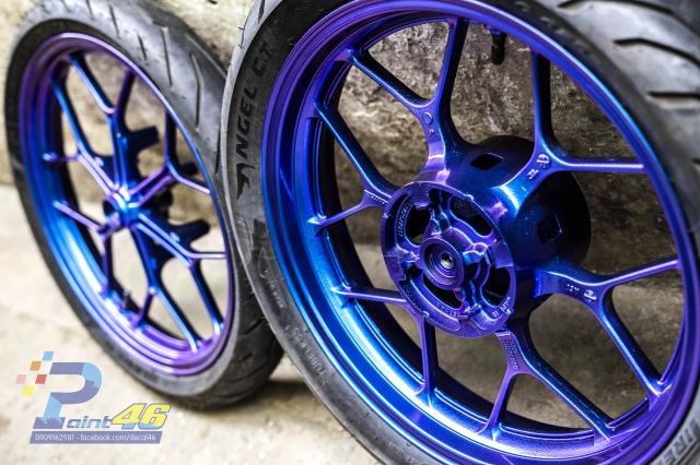 Son tinh dien mam xe may cho Winner X 150 do Decal46 thuc hien P1 - 5