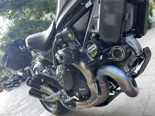 _ Moi ve Xe DUCATI Scrambler 800 ABS Full do choi HQCN Dang ky 82018 chinh chu odo 7300 km