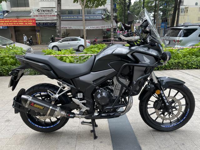 _ Moi ve xe HONDA CB500X ABS odo 11500 km HQCN Dang ky 92019 chinh chu xe dep may zin - 9