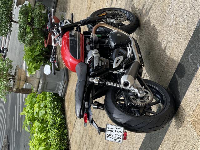 _ Moi ve xe Triumph Speed Twin 1200 ABS HQCN Dang ky 22021 chinh 1 chu odo 3900 km xe dep moi - 4